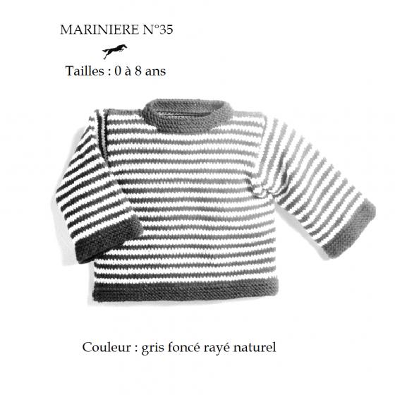 Kit Tricot Marinière 35