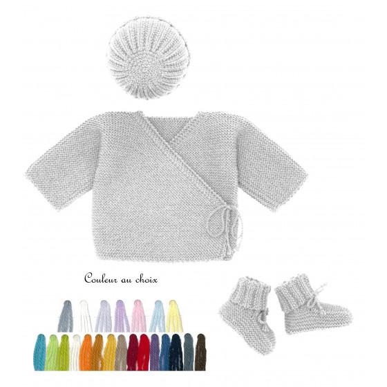 Ensemble bébé Uni couleur au choix