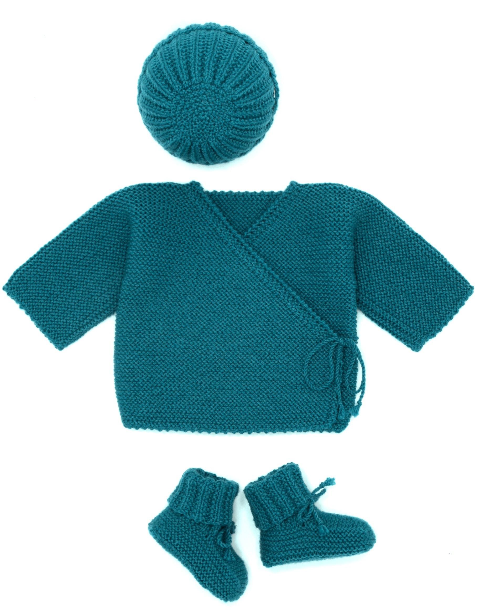 7d067448e5142 Ensemble brassière bébé brassière bébé laine