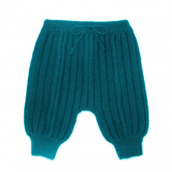 Pantalon Sarouel bébé laine canard