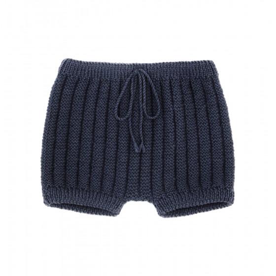 Culotte courte laine anthracite