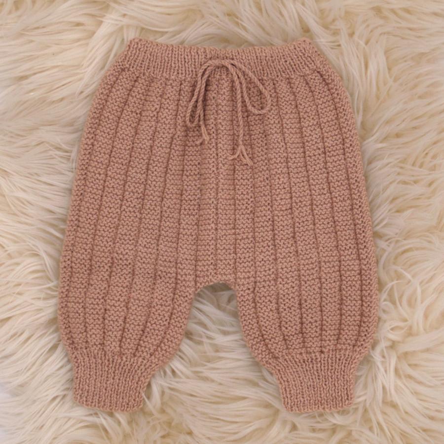modele tricot sarouel gratuit