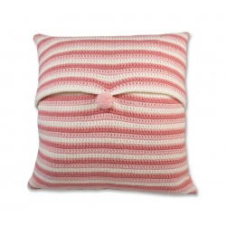 Coussin face chouette