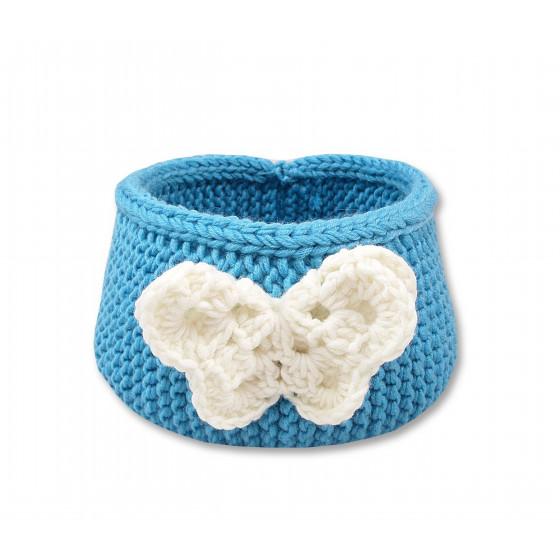 accessoire amovible : papillon ivoire