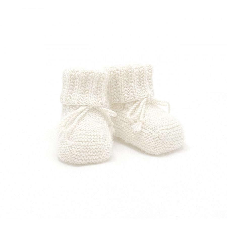 Chaussons blancs