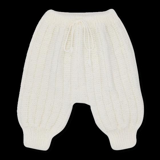 Pantalon Sarouel blanc laine mérinos