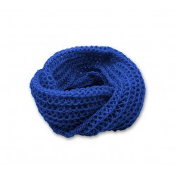 Snood Chamallow Bleu de France