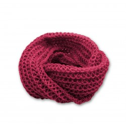 Snood Chamallow Bois de Rose