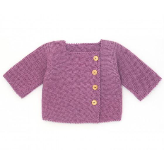 kit tricot gilet bebe