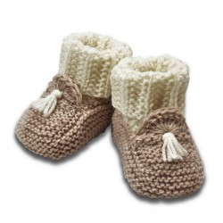 Chaussons Mocassins Taupe