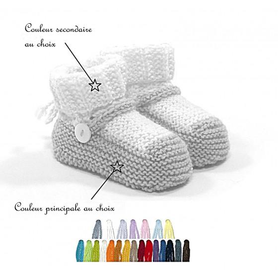 Chaussons Souliers couleurs au choix
