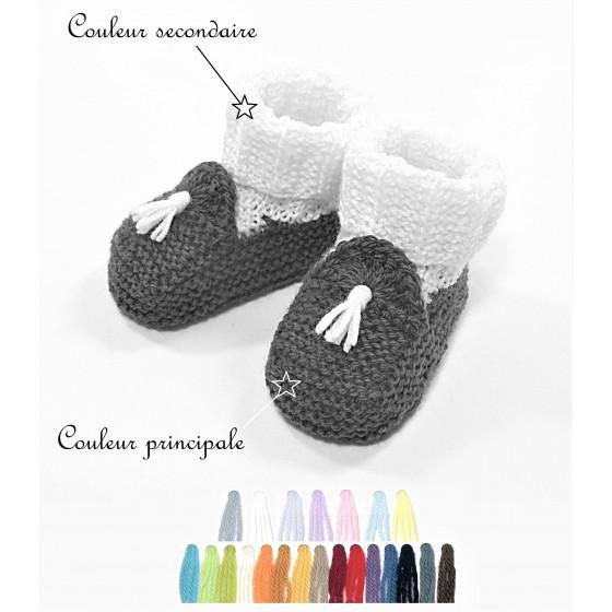 Chaussons Mocassins couleurs au choix