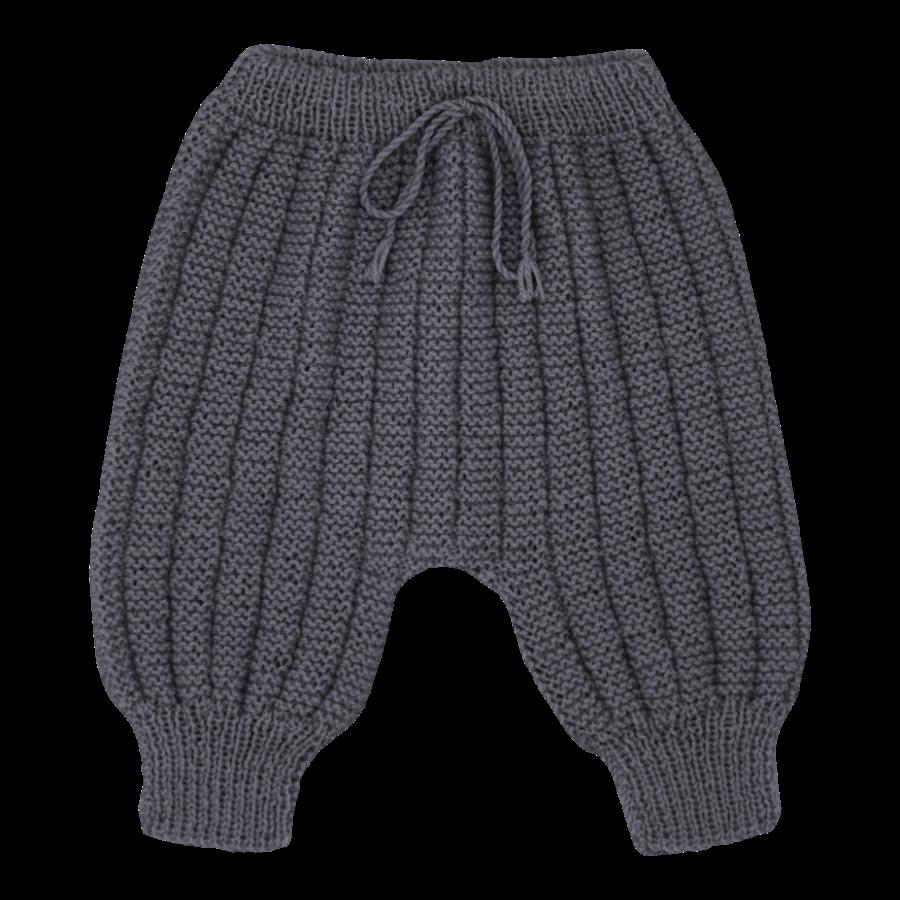 Pantalon Sarouel bébé laine anthracite