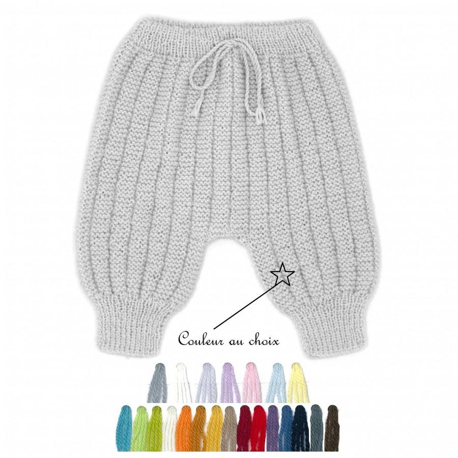 Pantalon Sarouel laine couleur au choix